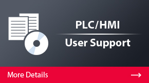 PLC/HMI User Support | More Details
