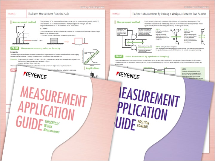 Measurement Guide by Application [Measurement of thickness/width] (English)
