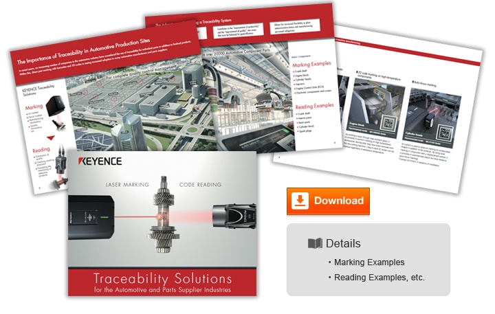 Traceability Solutions for the Automotive and Parts Supplier Industries (English)