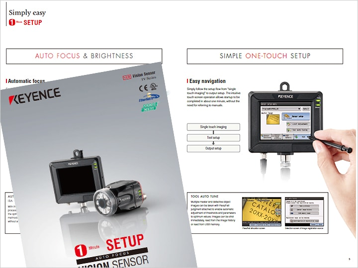 IV Series Vision Sensor Catalog (English)
