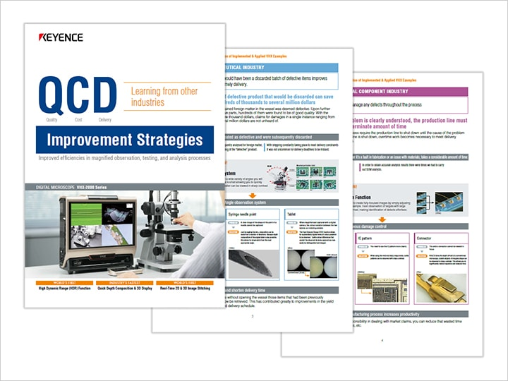Improvement plan of QCD in other companies Vol. 1 The point is streamlining magnified observation and analysis inspection (English)