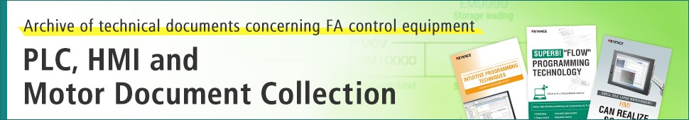 [Archive of technical documents concerning FA control equipment] PLC, HMI and Motor Document Collection