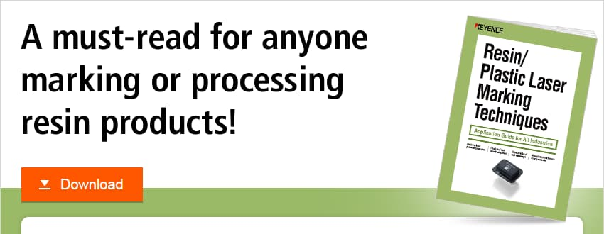 A must-read for anyone marking or processing resin products!