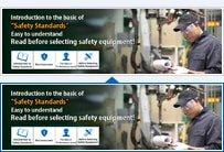 "Easy to understand Read before selecting safety equipments!Introduction to the basic of ""Safety Standards"""