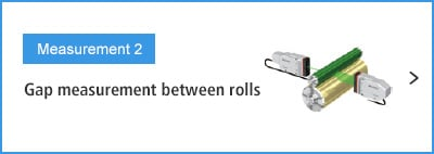 B-A- Measurement 2 Gap measurement between rolls
