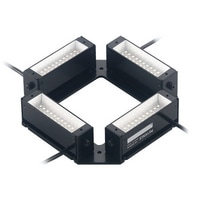 CA-DQW10 - White Square Bar Light 100□