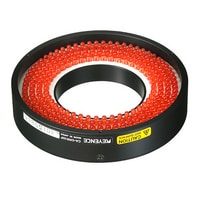 CA-DRR10F - Red Ring Flat Light 100-50