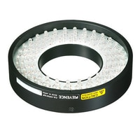 CA-DRW10F - White Ring Light (Direct, Flat type) 100-50