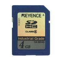 CA-SD4G - SD Card 4 GB (SDHC: Industrial Specification)
